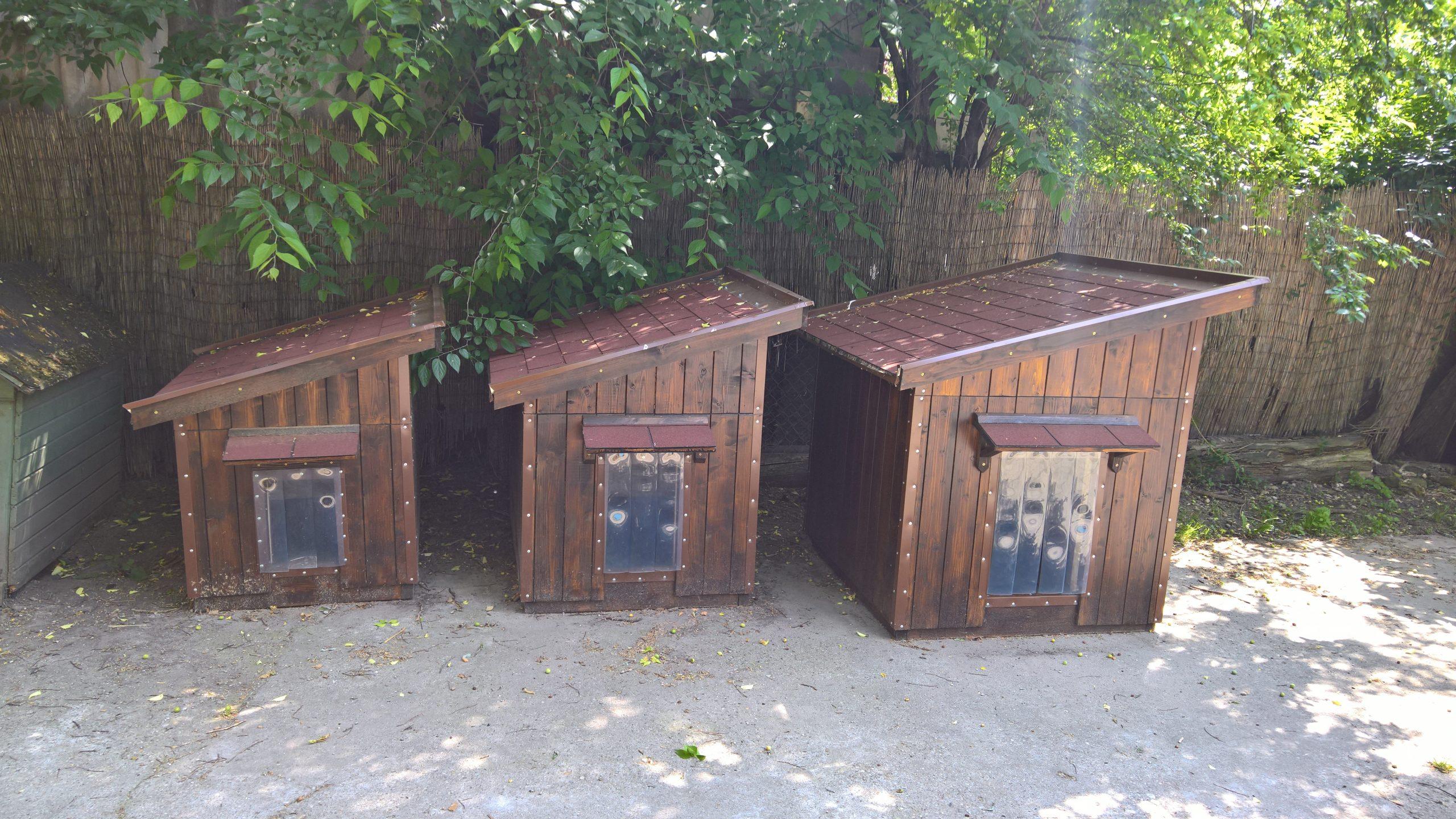 Közepes, Nagy, XL Kutyaházak